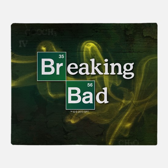 Breaking Bad Logo Throw Blanket