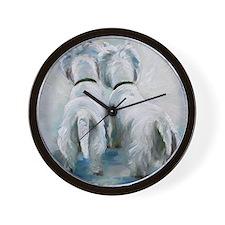 Two's Company Wall Clock