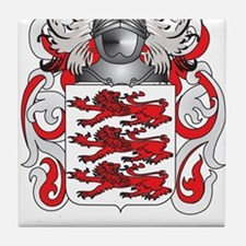 McMahon Coat of Arms - Family Crest Tile Coaster