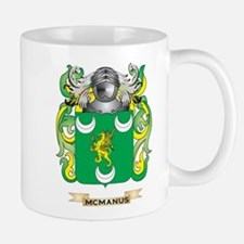 McManus Coat of Arms - Family Crest Small Mugs