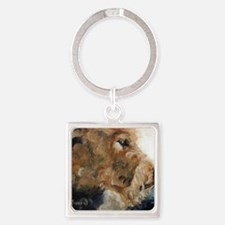 Quiet Moment Square Keychain