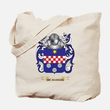 Mc-Marquis Coat of Arms - Family Crest Tote Bag
