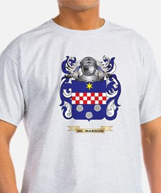 Mc-Marquis Coat of Arms - Family Crest T-Shirt
