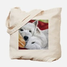 the Art of Snuggling Tote Bag