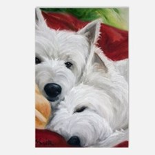 the Art of Snuggling Postcards (Package of 8)