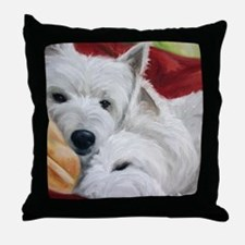 the Art of Snuggling Throw Pillow