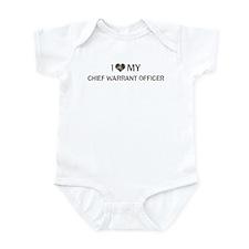 Chief Warrant Officer: Love - Infant Bodysuit