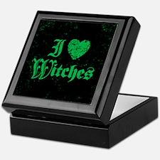 I Love Witches Keepsake Box