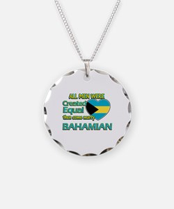 Bahamian wife designs Necklace