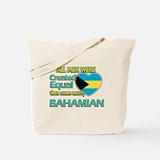 Bahamian wife designs Tote Bag