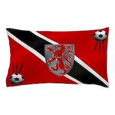 Trinidad Tobago Football Flag Pillow Case