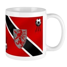 Trinidad Tobago Football Flag Mug