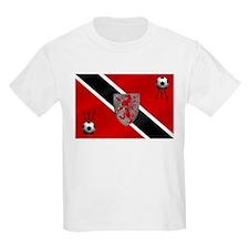 Trinidad Tobago Football Flag T-Shirt