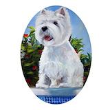 Westie terrier Ornaments