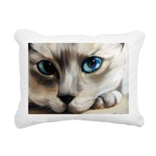 Siamese Rectangular Canvas Pillow