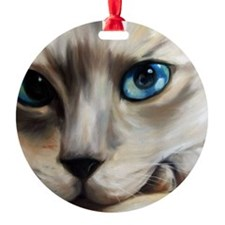 Siamese Ornament