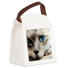 Siamese Canvas Lunch Bag
