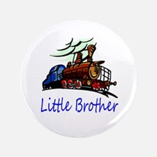 """Little Brother Roliing Train 3.5"""" Button"""