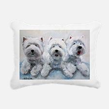 Pure Fluff Rectangular Canvas Pillow