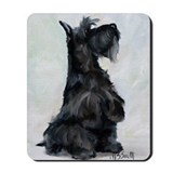Scottish terrier Mouse Pads
