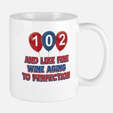 102nd birthday designs Mug