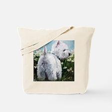 Picking Daisies Tote Bag