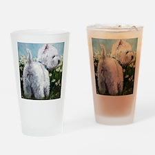 Picking Daisies Drinking Glass