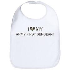 Army First Sergeant: Love - V Bib