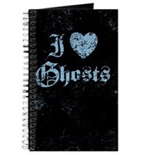 I Love Ghosts Journal