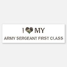 Army Sergeant First Class: Lo Bumper Bumper Bumper Sticker