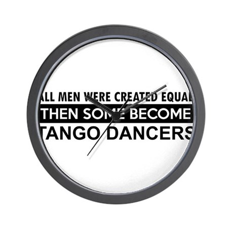 Tango Dance designs Wall Clock