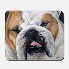 Daisy Bulldog Mousepad
