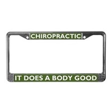 It Does A Body Good License Plate Frame