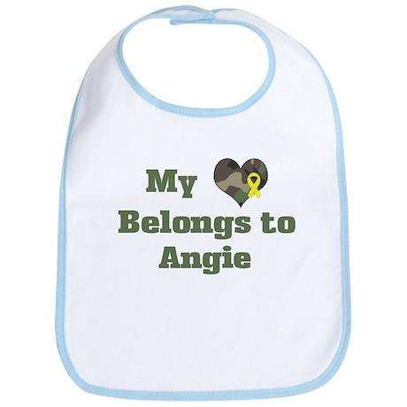 Angie: My Heart Bib