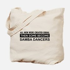 Samba Dance designs Tote Bag