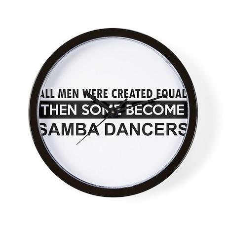 Samba Dance designs Wall Clock
