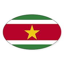 Flag of Suriname Decal