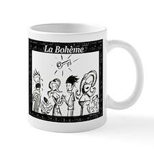 La Boheme black & white Mug