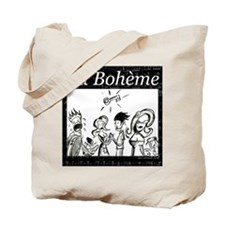 La Boheme black & white Tote Bag