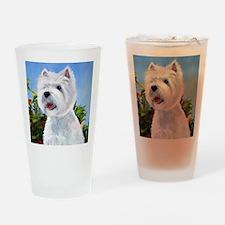 Three's Company Drinking Glass