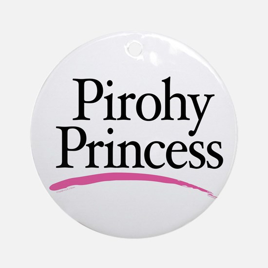 Pirohy Princess Ornament (Round)