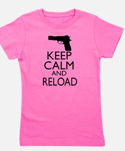 Keep Calm Reload Girl's Tee