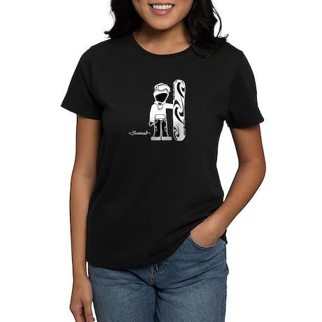 Snowboarder Cyrus Women's Dark T-Shirt