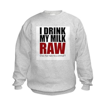 Raw baby Sweatshirt
