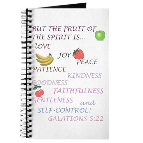 Fruit's of the Spirit Journal.