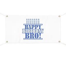 Happy Birthday Brother Banner
