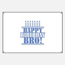 Happy Birthday Brother Banner