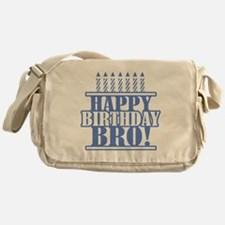 Happy Birthday Brother Messenger Bag