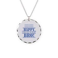 Happy Birthday Brother Necklace