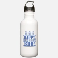Happy Birthday Brother Water Bottle